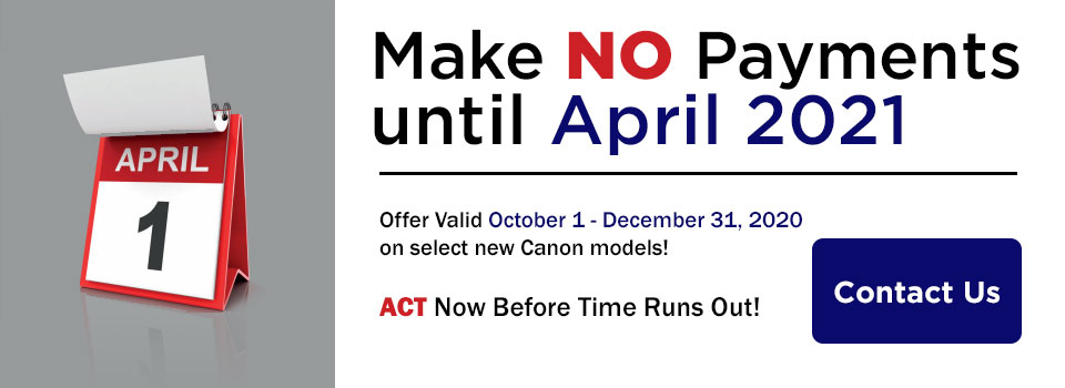 Promotion on select Canon ImageRunner Advance Model - Call Now